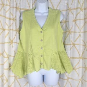 WILLOW Knit Bustle Vest